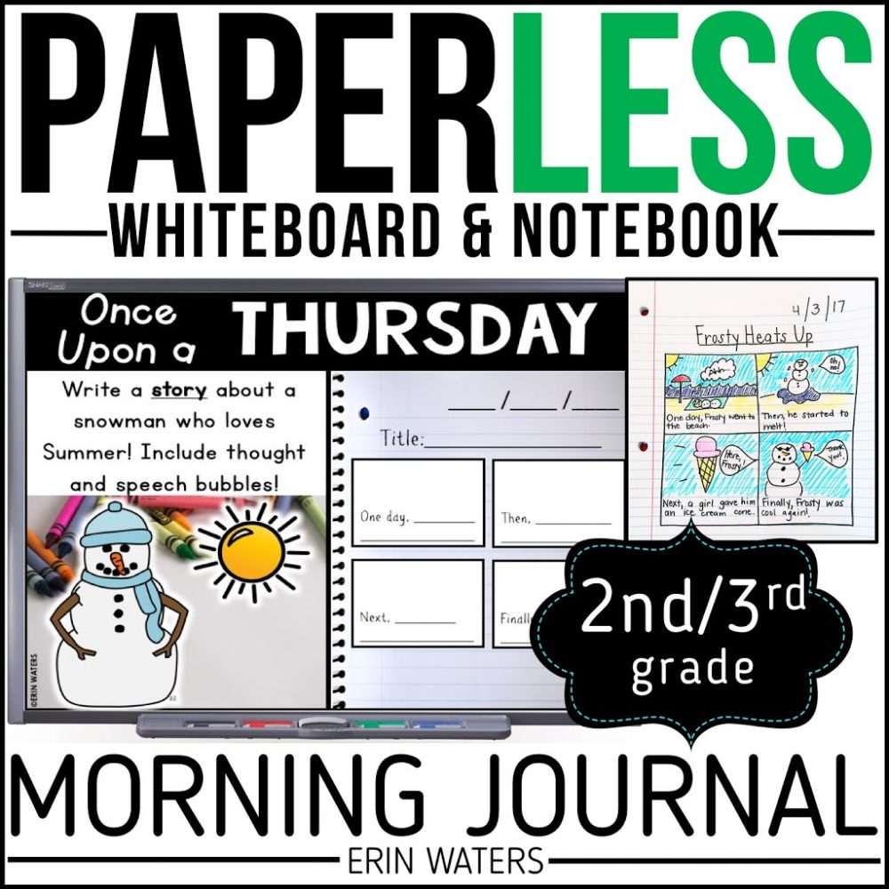 second grade and third grade morning journal listing