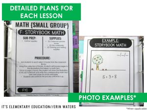paperless sub plan binder with photo examples