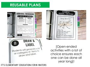 paperless sub plan binder with reusable plans examples