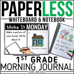 First Grade November Morning Work Pack - Elementary Education