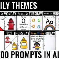 Practically Paperless™ Morning Work {Kindergarten FREE
