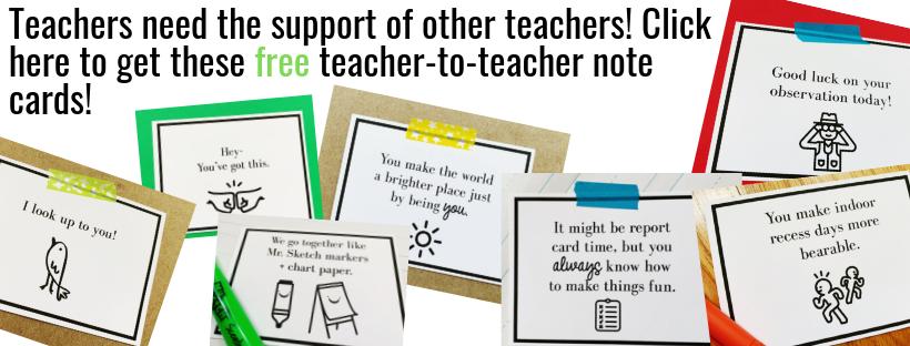 teacher inspiration teacher humor note cards