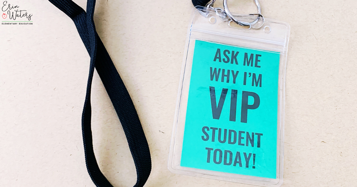 VIP Student lanyard