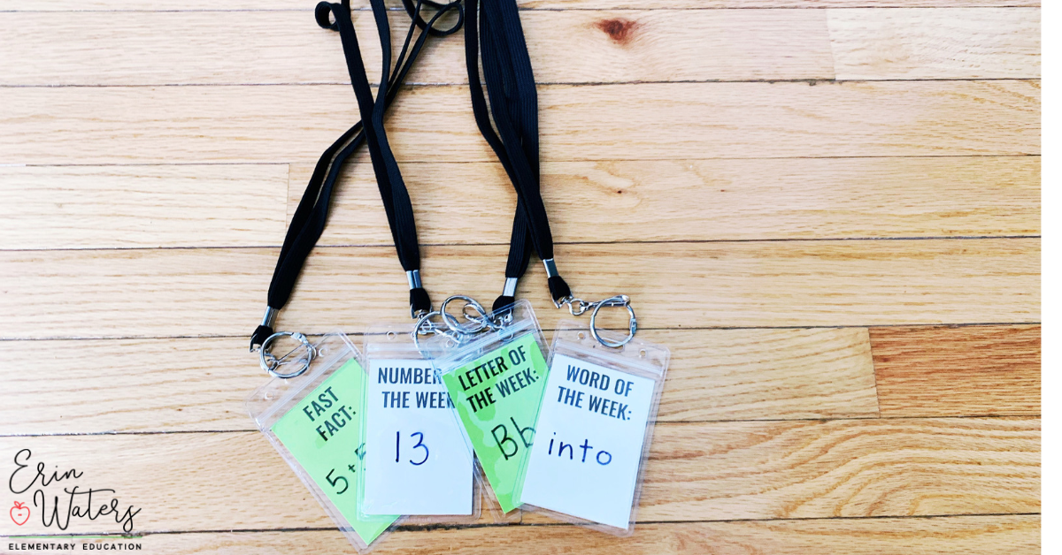 lanyards for classroom