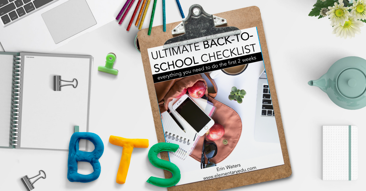 back to school checklist to do list