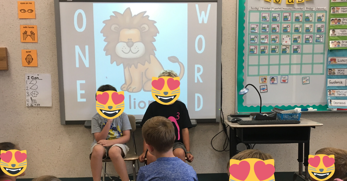 one word game brain break