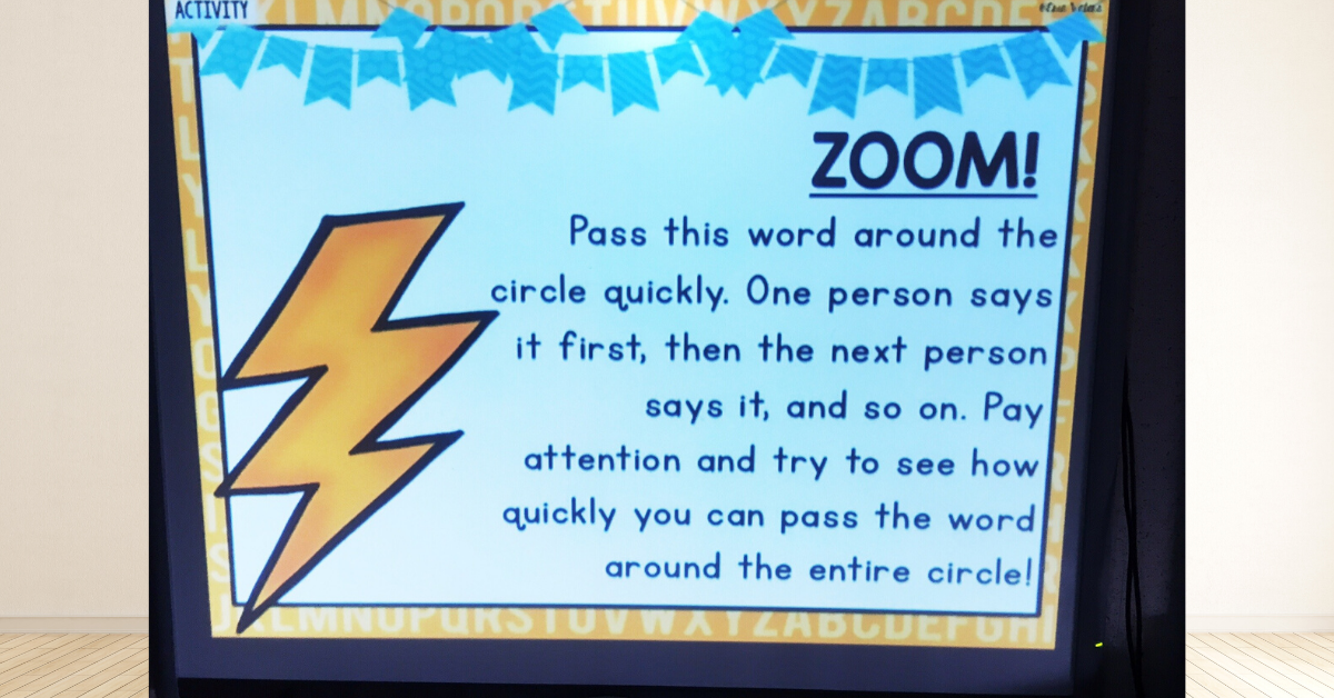 zoom brain break