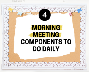 morning meeting components
